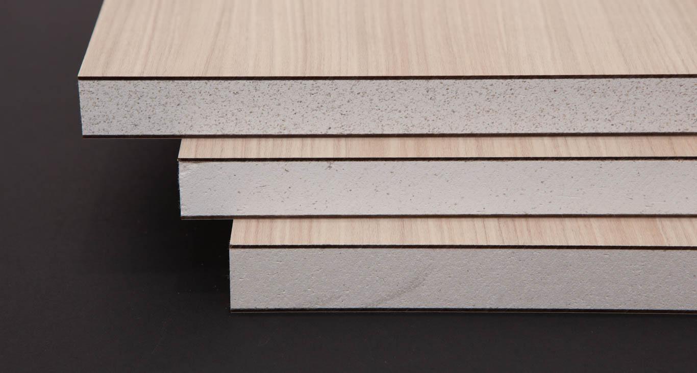 Tủ bếp bằng vật liệu WPB siêu chịu nước, chống mối mọt.